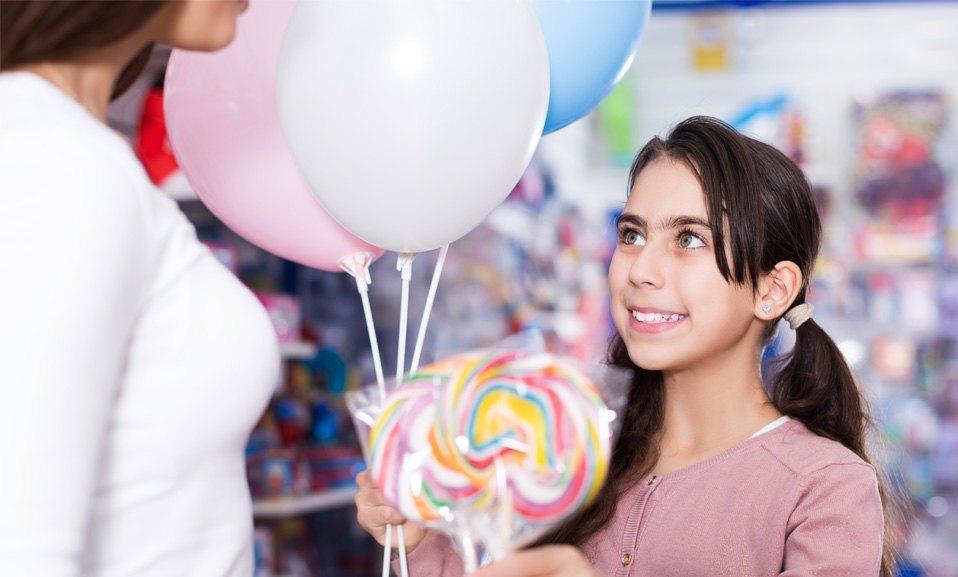Accesorios para globos personalizados
