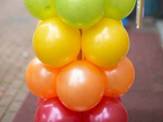 Arbol expositor para globos