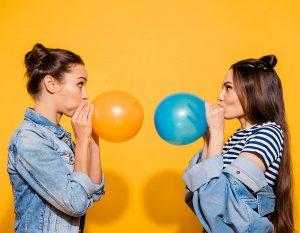 Trucos para inflar globos en eventos