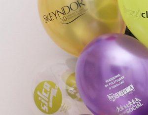 Serigrafía en globos para estampar diseños