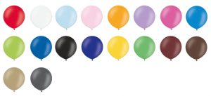 Globos gigantes pastel colores disponibles