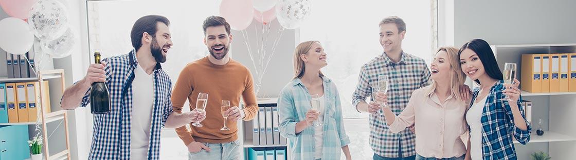 Globos para fiestas y eventos de empresa
