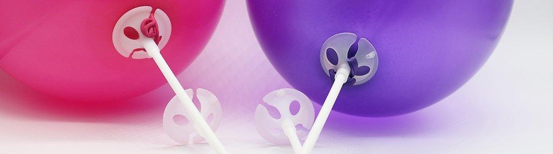 Bases para globos para decoración
